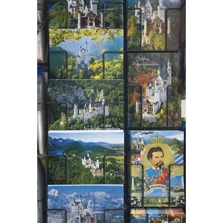 Framed Art for Your Wall Castle Souvenir Fairy Tales Kristin Postcards 10x13 Frame Fairy Art Card