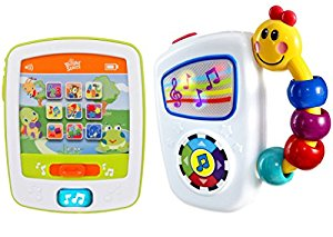 Bright Starts Lights and Sounds Fun Pad with Take Along Tunes by Bright Starts