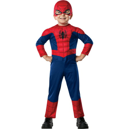Easy Homemade Halloween Costumes For Toddlers (Spider-Man Toddler Halloween)