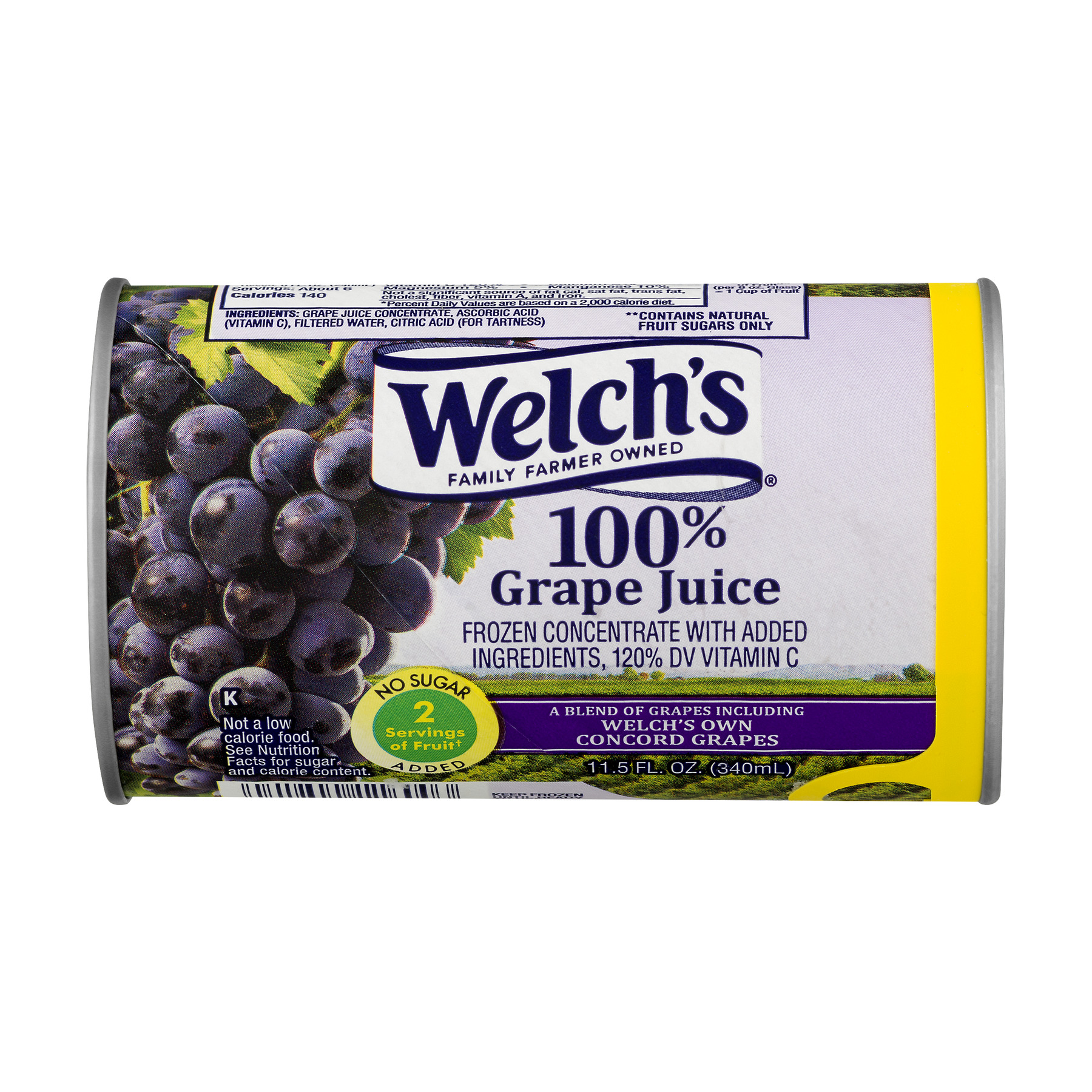 Welch's 100% Grape Juice, 11.5 fl oz