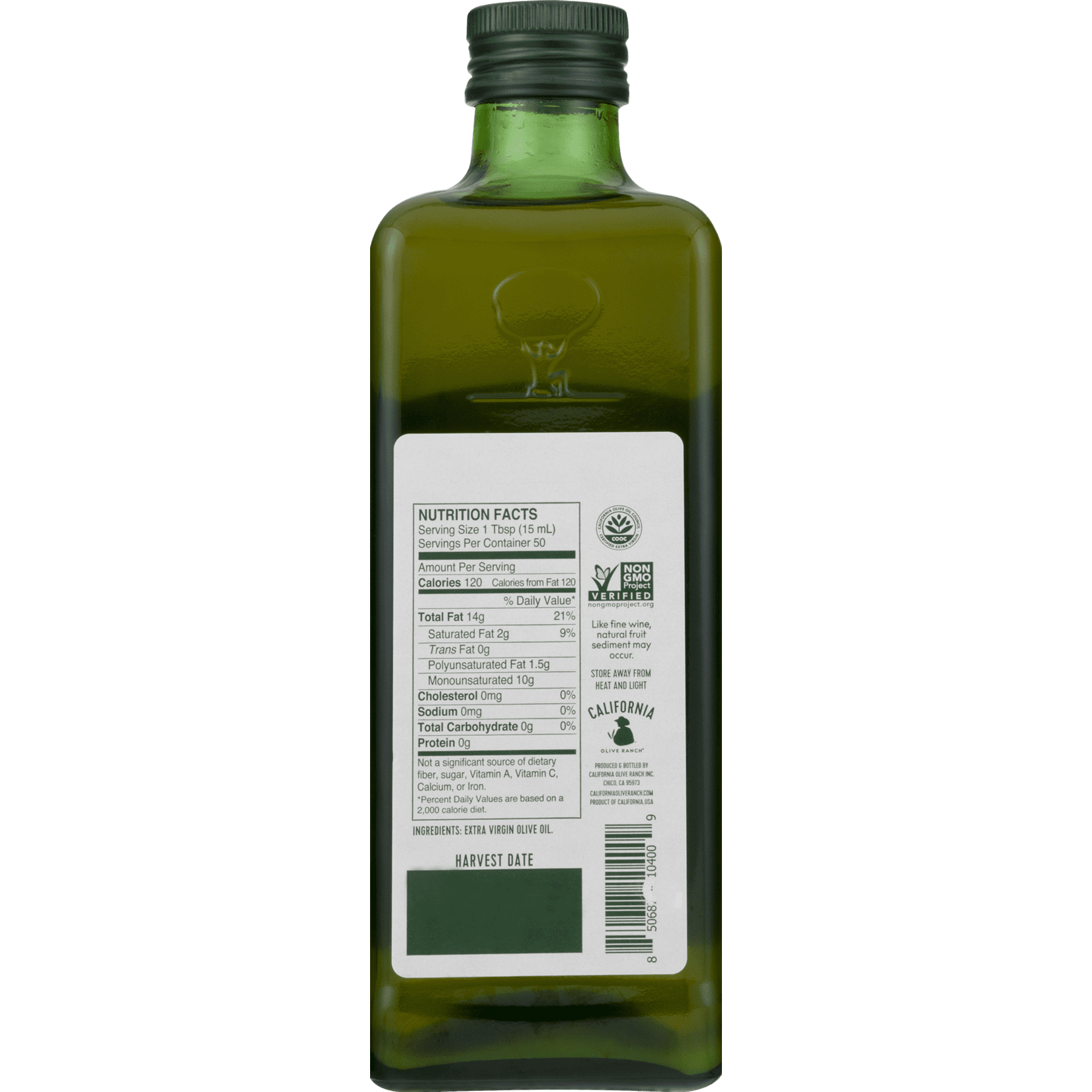 California Olive Ranch Extra Virgin Olive Oil (Destination