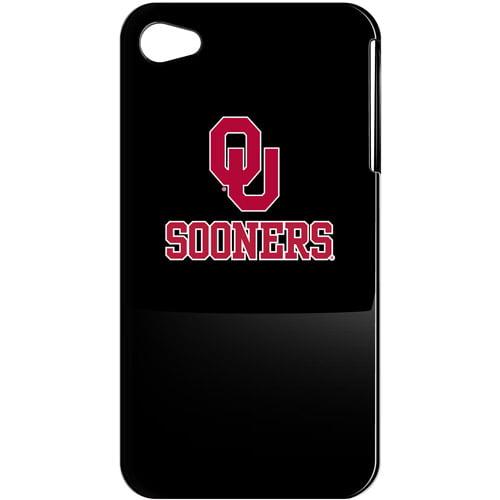 NCAA - Oklahoma Sooners iPhone 4 Case: Black Shell