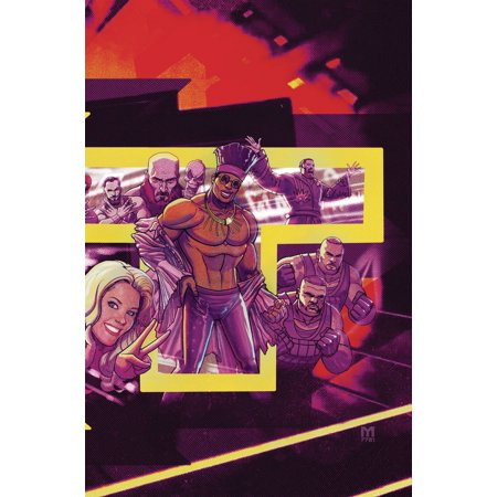 Boom Studios WWE NXT Takeover #1 Redemption [Delfanso Variant Cover]