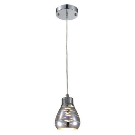 Illuminati Lighting Us Trista 3D Curve Lines Mini Pendant