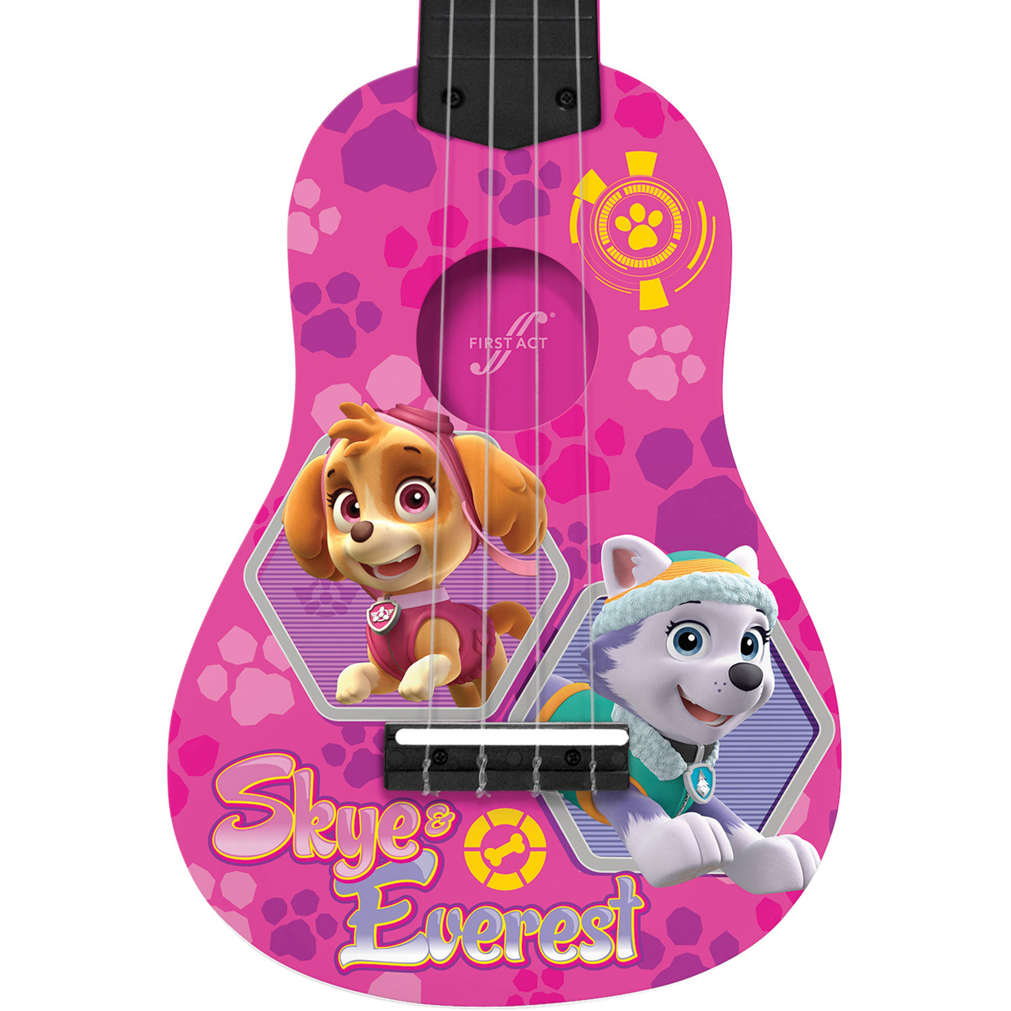 First Act Nickelodeon Paw Patrol Mini Guitar PP287 Pink Walmart