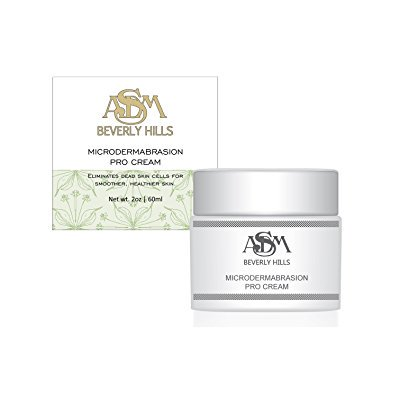 Microdermabrasion Cream with Micro crystals, Tea Tree Oil & Vitamin E 2oz