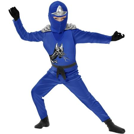 Child Blue Ninja Avengers Series 2 - Ninja Costume Blue