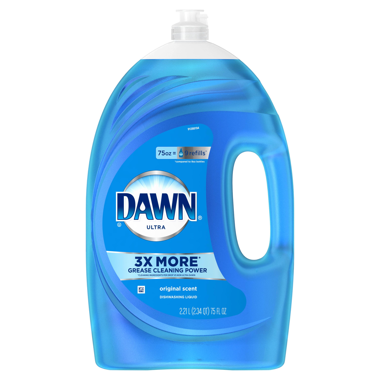 Dawn Ultra Dishwashing Liquid Dish Soap Original Scent 75 oz