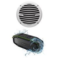 Rockford Fosgate RM18D2 8 300W Marine_Boat Subwoofer Prime Sub + Free Speaker