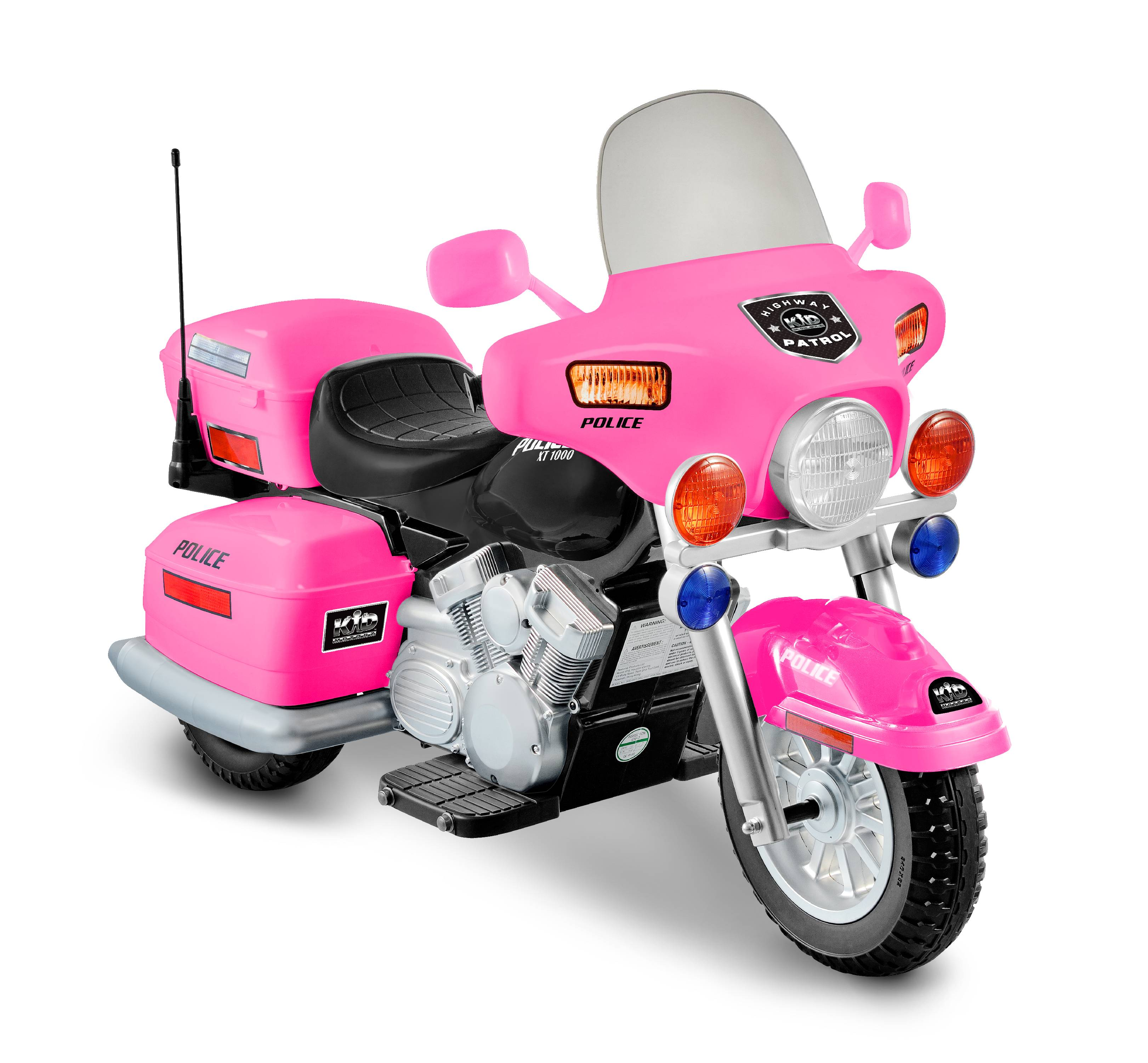 Kid Motorz Motorcycle 12-Volt Battery-Powered Ride-on, Pink ...
