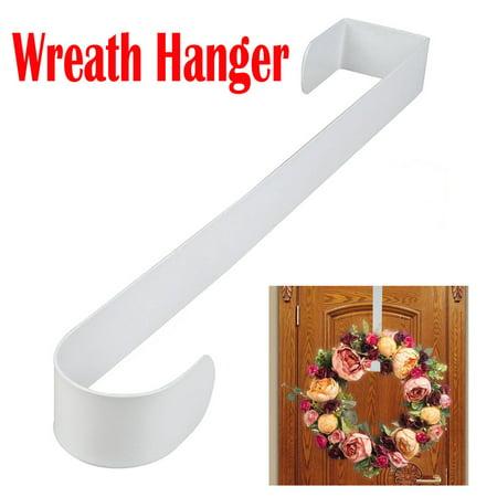 Wreath Hangers (Premium Over The Door Metal Wreath Hanger Wreath Hook Party Home)