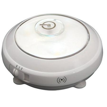 Rite Lite LED Puck Light with Light Sensor, White