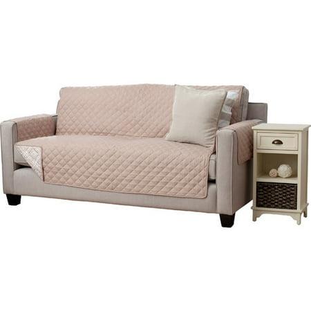 Home Fashion Designs Adalyn Diamond Geo Box Cushion Sofa Slipcover