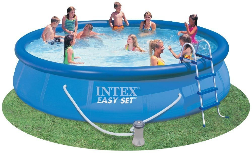 Intex 15' x 36'' Easy Set Pool Above Ground Swimming Pool by Intex