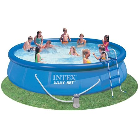 intex 15 39 x 36 39 39 easy set pool above ground swimming pool. Black Bedroom Furniture Sets. Home Design Ideas