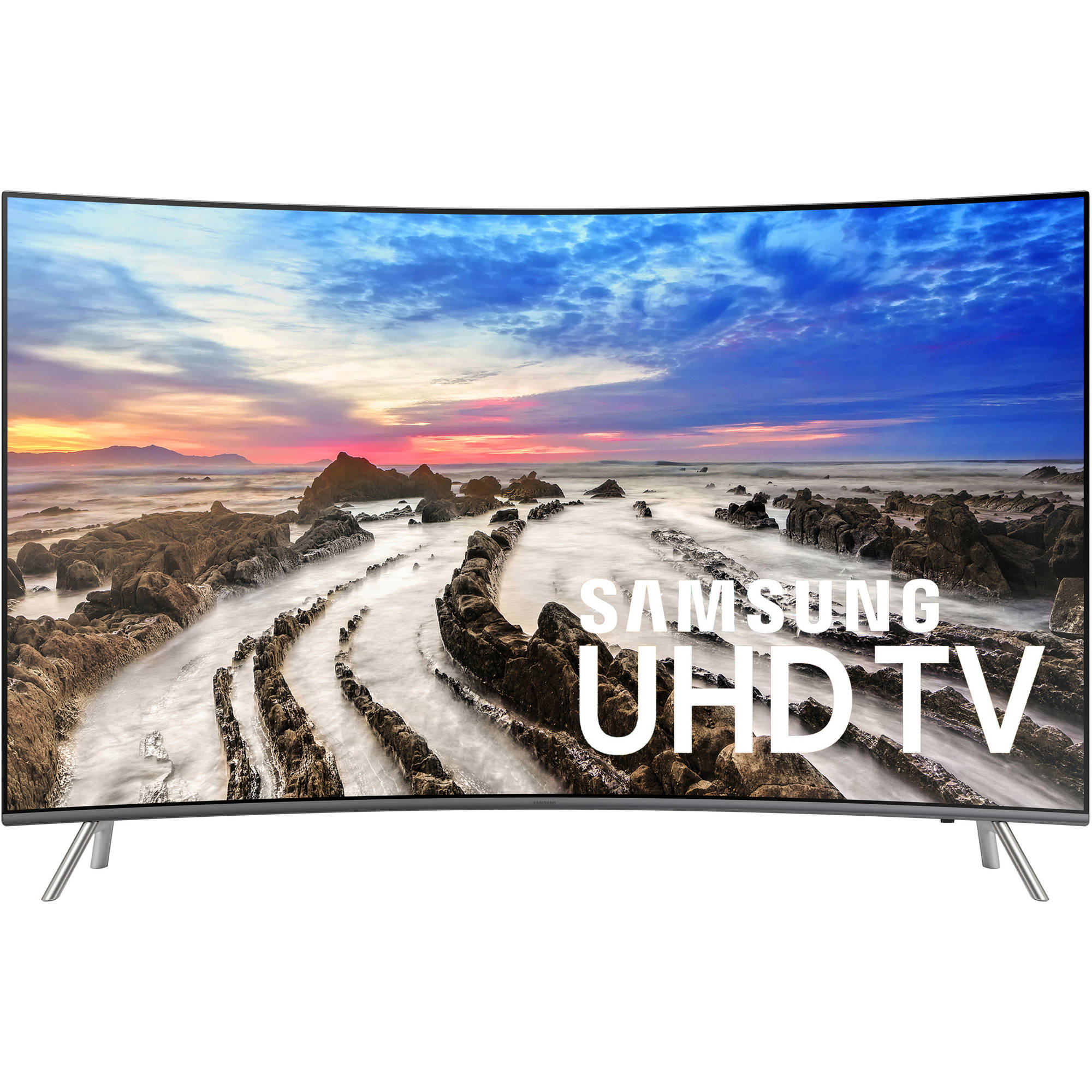 "SAMSUNG 55"" Class Curved 4K (2160P) Ultra HD Smart LED TV (UN55MU8500FXZA)"