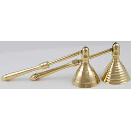 Brass Candle Snuffer Renaissance Design Extinguish Flame (Cooper Brass Candle)