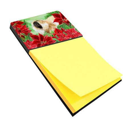 Pekingese Poinsettas Sticky Note Holder - image 1 de 1