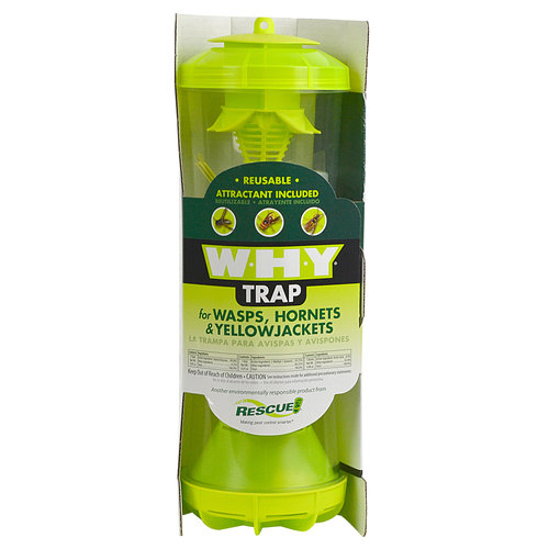 Rescue Wasp, Hornet, Yellow Jacket Insect Trap and Attractant Insect Control, 1 unit