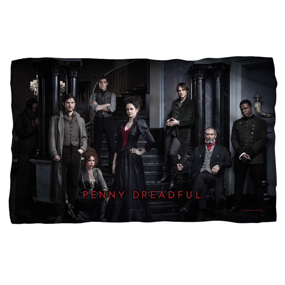 Penny Dreadful Stair Cast Poly 36X60 Blanket White One Size