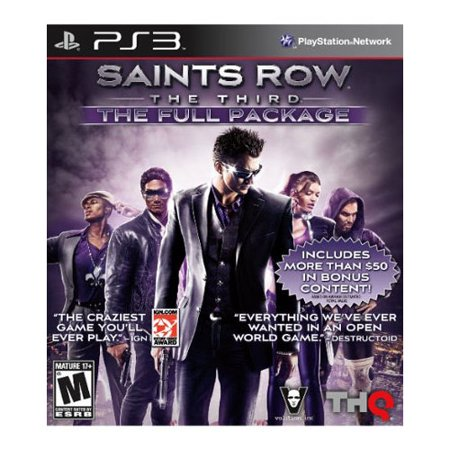 SAINTS ROW 3 W/DLC (FULL PKG)