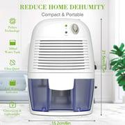 Dehumidifier 500ml Electric Low-noise Air Damp Dryer Home Portable Mini Dehumidifier US Plug - image 2 of 10