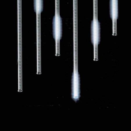 Snowfall set of 5 single sided 14 led outdoor christmas icicle snowfall set of 5 single sided 14 led outdoor christmas icicle light add aloadofball