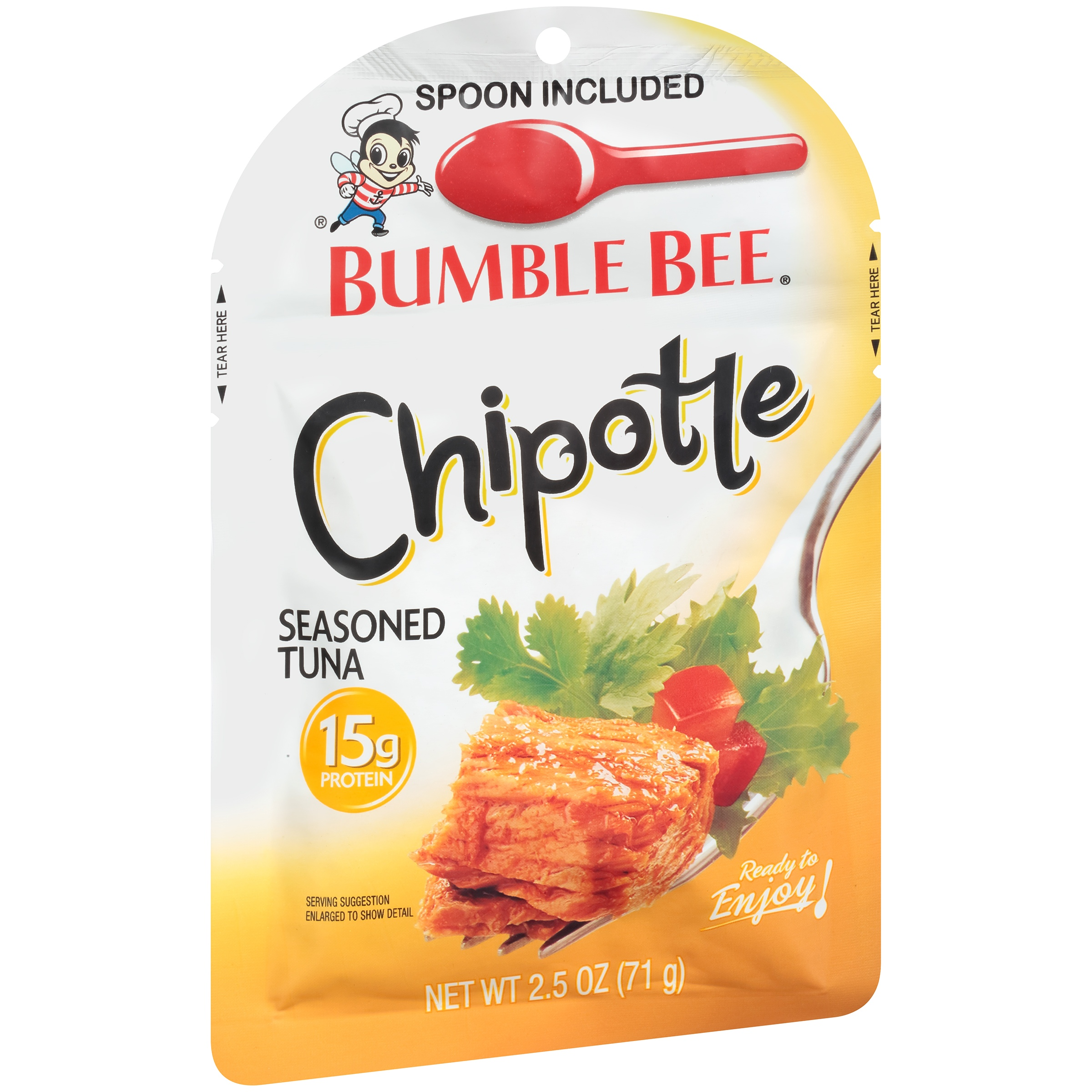 Bumble Bee Chipotle Seasoned Tuna Pouch 2.5oz by Bumble Bee Seafoods
