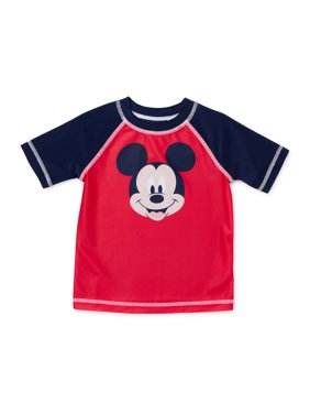 Mickey Mouse Baby Toddler Boy Rashguard Swim Shirt