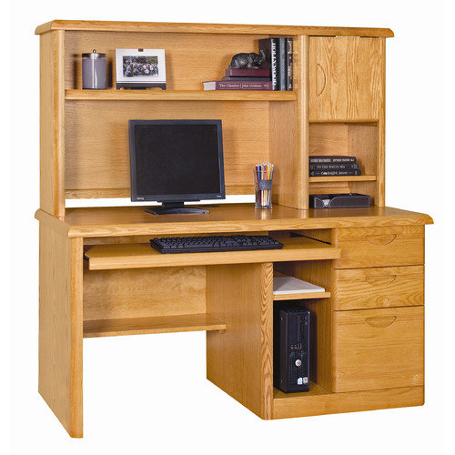 Martin Home Furnishings Waterfall Deluxe Computer Desk