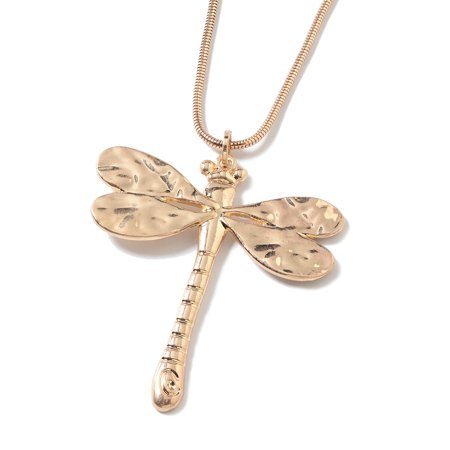 Dragonfly Chain Pendant Necklace 29