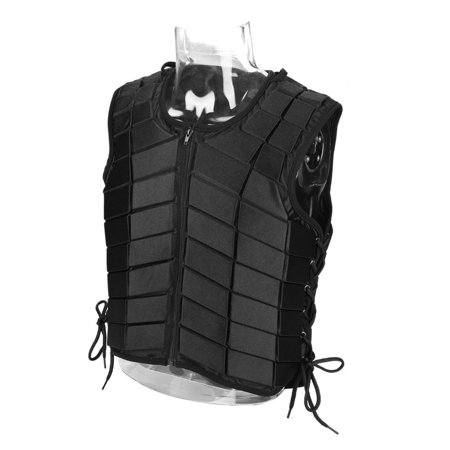 Knifun Adjustable Adult Horse Riding Vest Protective Safety Zippered  Waistcoat Equipment(XL) 42dce308c