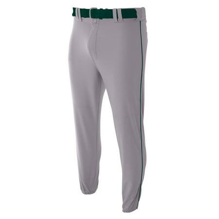 Pro Style Elastic Bottom Baseball Pants