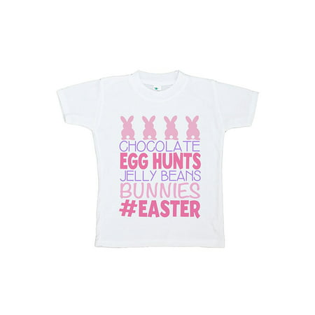 Easter Shape - Custom Party Shop Baby Girls #Easter Happy Easter T-shirt - Small Youth (6-8) T-shirt