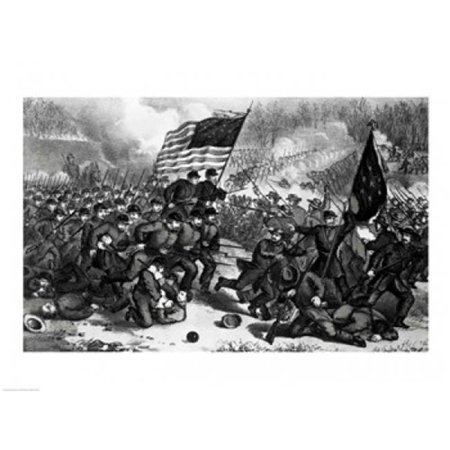 The Second Battle of Bull Run Poster Print - 24 x 18 in. - image 1 de 1