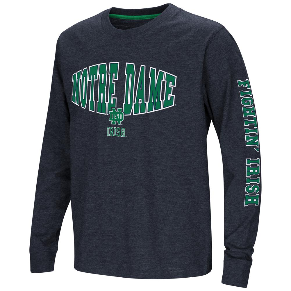 Notre Dame Fighting Irish Youth Long Sleeve Tee Spike L/S Tee