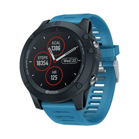 Zeblaze VIBE 3GPS Multisport Smartwatch 1.3-Inches IPS Color Touchscreen Big Face Watch /GLONASS Activity IP67 Wateproof Sport Watch with Heart Rate/Sleep Monitor Multiple Workout Modes Pedometer No