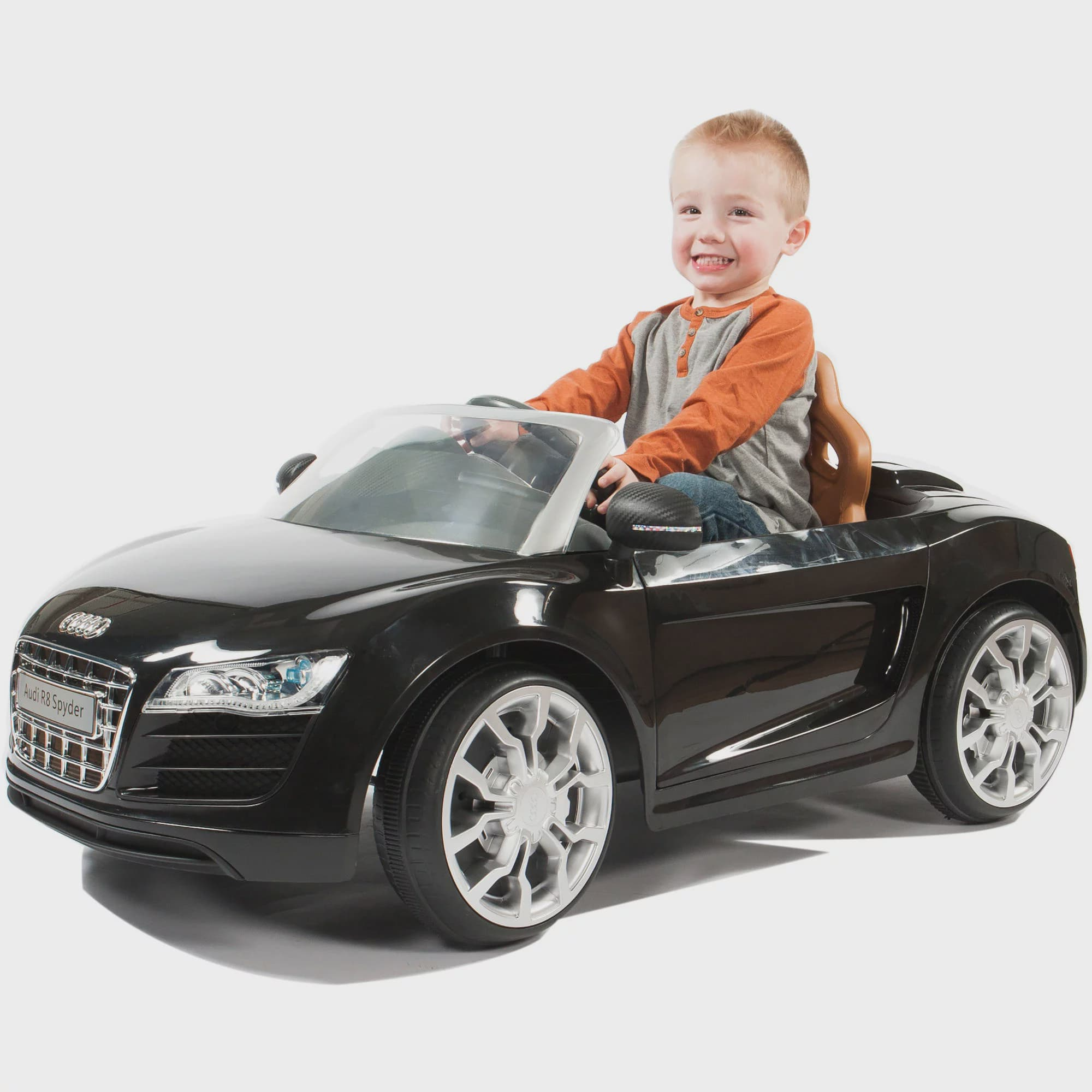Rollplay Audi R8 Spyder 6 Volt Battery Ride On Vehicle Walmart Com