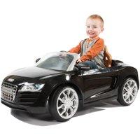 Rollplay Audi R8 Spyder 6 Volt Children's Battery Ride-On Vehicle - Black