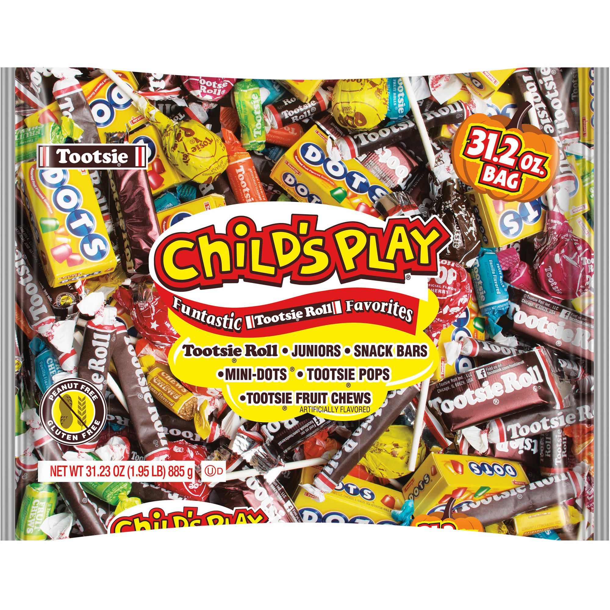 7f4f725f Child's Play Halloween Assorted Candy, 31.23 Oz. - Walmart.com