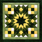 "Diamond Star Quilt Magic Kit, 12"" x 12"""