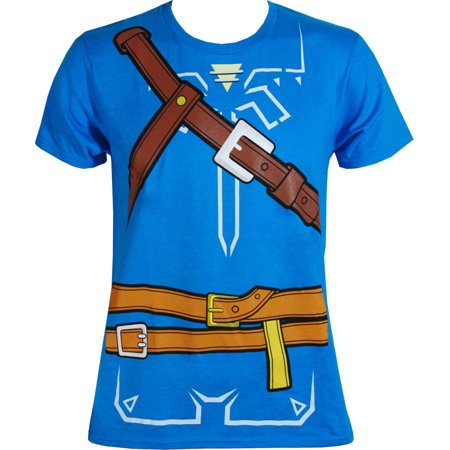 zelda breath of the wild boys cosplay youth t-shirt
