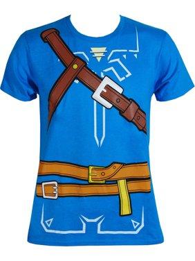 zelda breath of the wild boys cosplay youth t-shirt