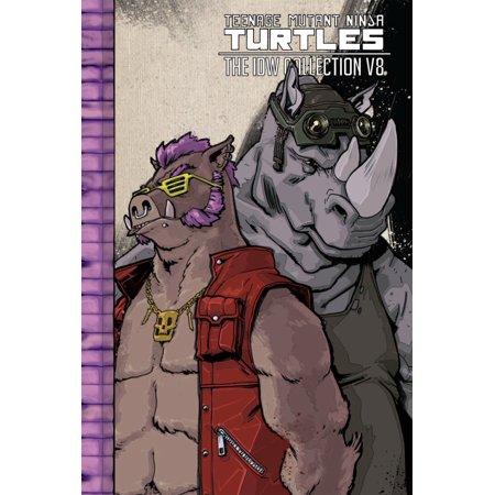 Teenage Mutant Ninja Turtles: The IDW Collection Volume 8