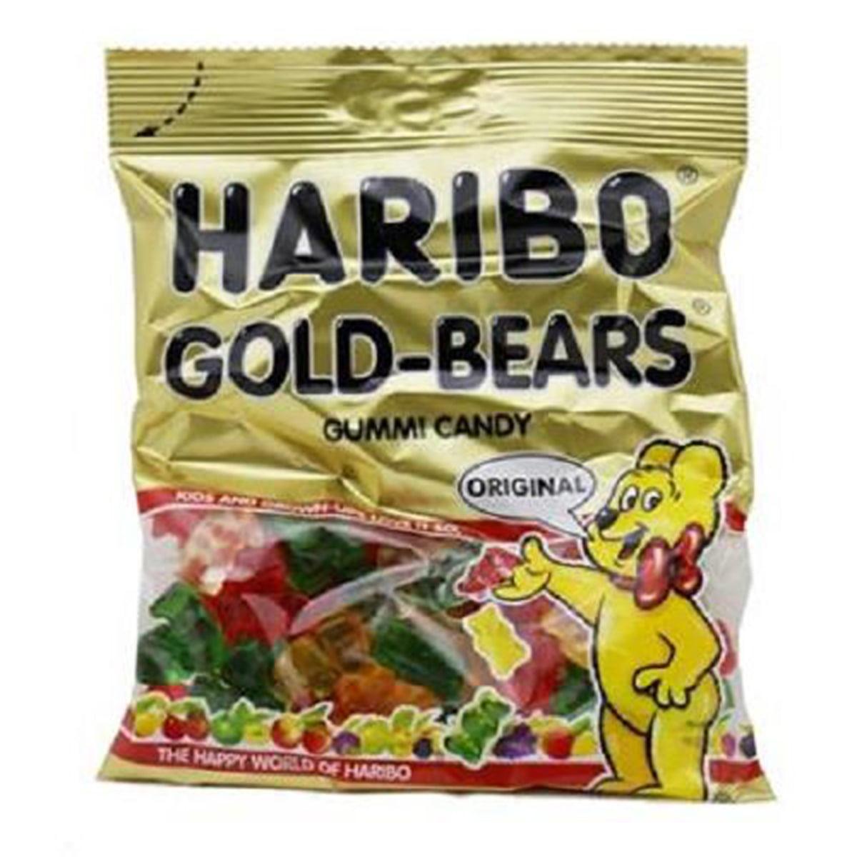 Product Of Haribo, Peg Gold-Bears Gummies, Ct 12 (5 Oz) - Sugar Candy / Grab Varieties & Flavors