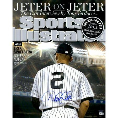 1980 Sports Illustrated Magazine - Derek Jeter New York Yankees Steiner Sports Autographed 16