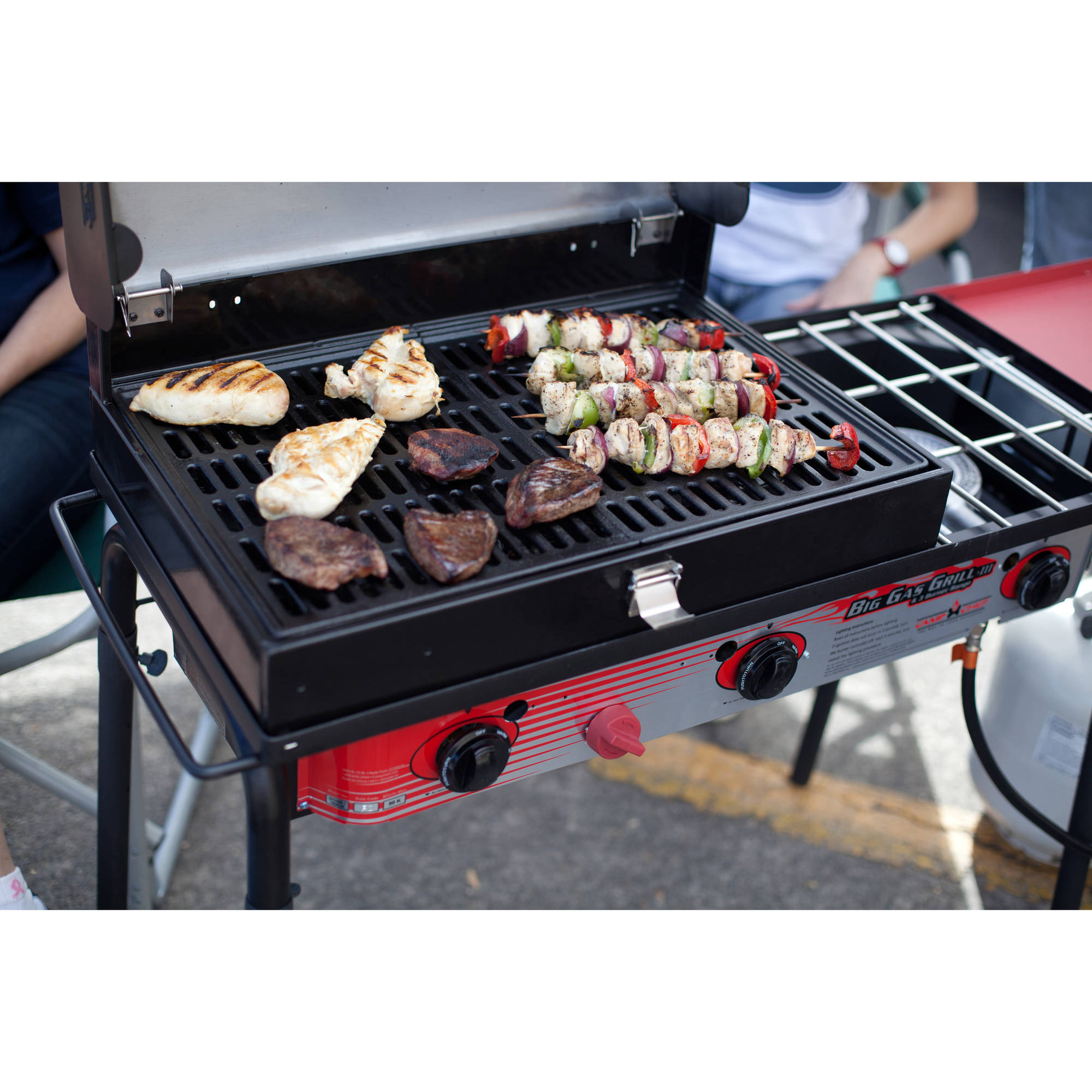 Camp Chef 3-Burner Barbecue Box with Hinged Lid with