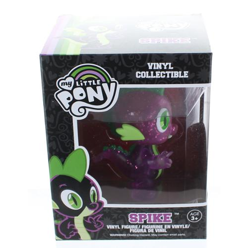 "My Little Pony 4.5"" Vinyl Figure Spike (Glittered Variant)"