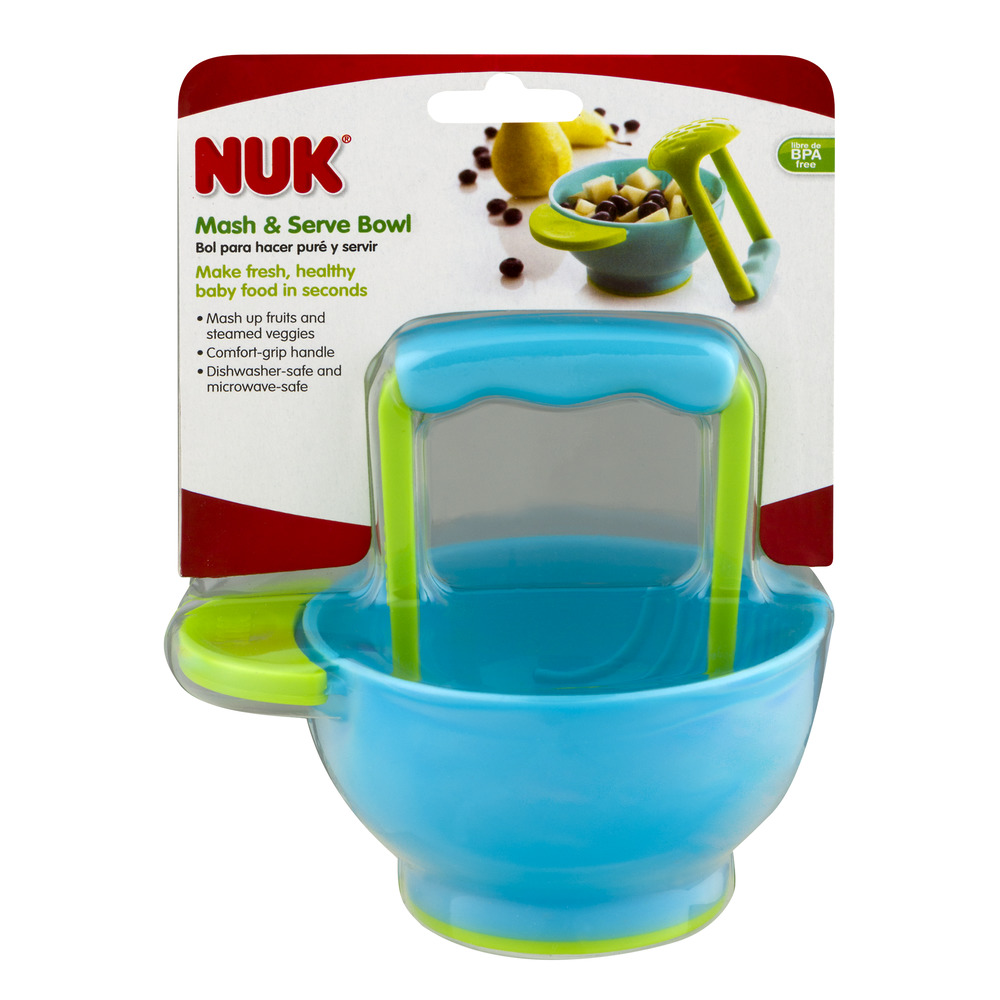 Nuk Mash & Serve Bowl, 1.0 CT