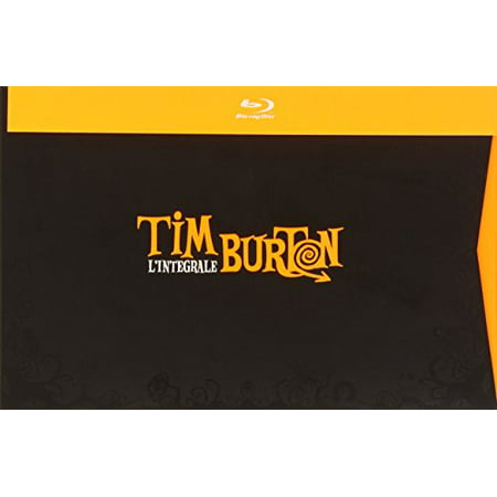 Tim Burton Collection - 16-Disc Box Set ( Pee-wee's Big Adventure / Beetlejuice / Batman / Edward Scissorhands / Batman Returns / The Nightmare Before Christmas [ Blu-Ray, Reg.A/B/C Import - Tim Burton Halloween Movie